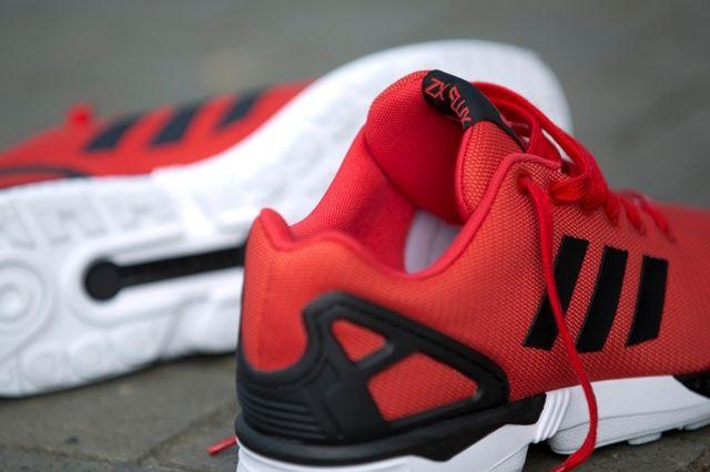 Adidas Zx Flux Poppy Red 4