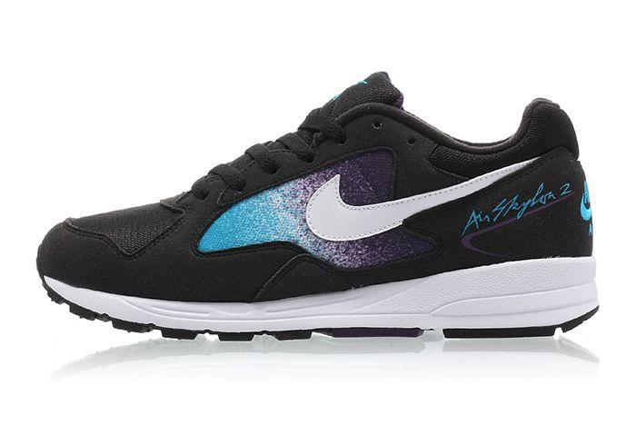 Nike Air Skylon 2 Black White Blue Lagoon Grand Purple 1