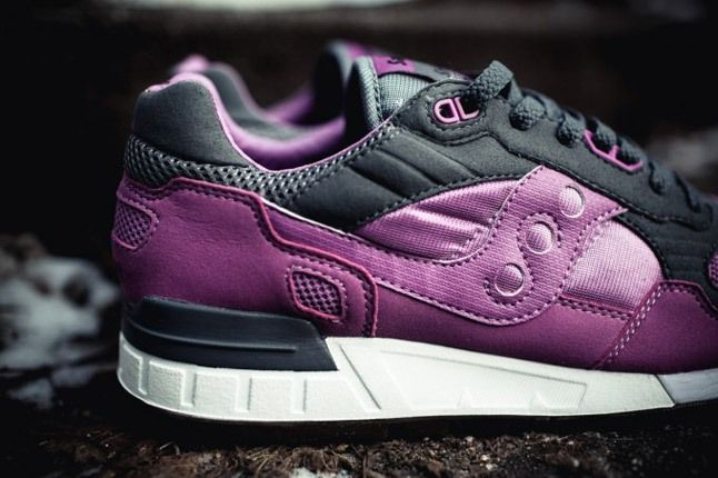 Saucony X Solebox Three Brothers Part 2 Purple Lateral Heel 1