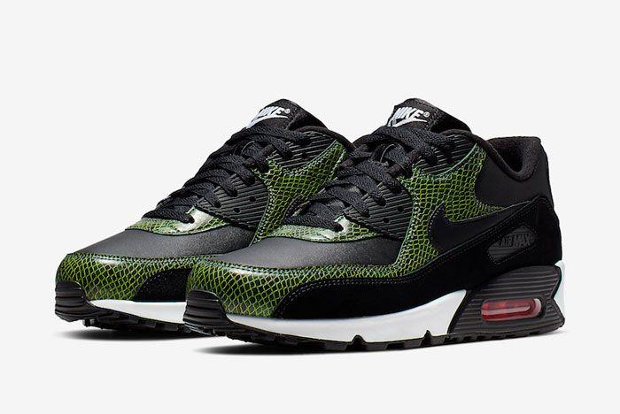 Nike Air Max 90 Green Python Full