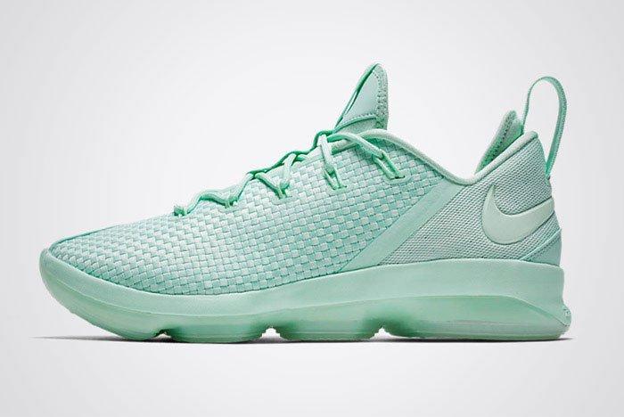 Nike Lebron14 Low Mint Foam Thumb
