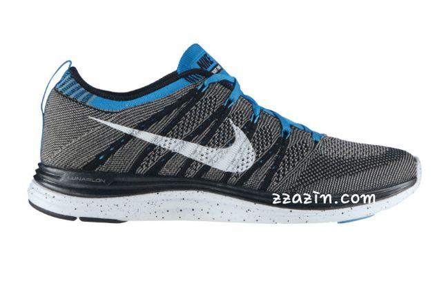 Nike Flyknit Lunar1 Blue Grey 1