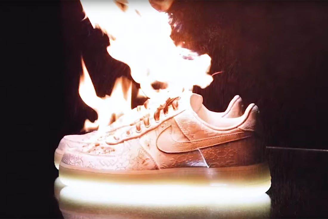 Clot X Nike Air Force 1 White On White 2018 Sneaker Freaker 1