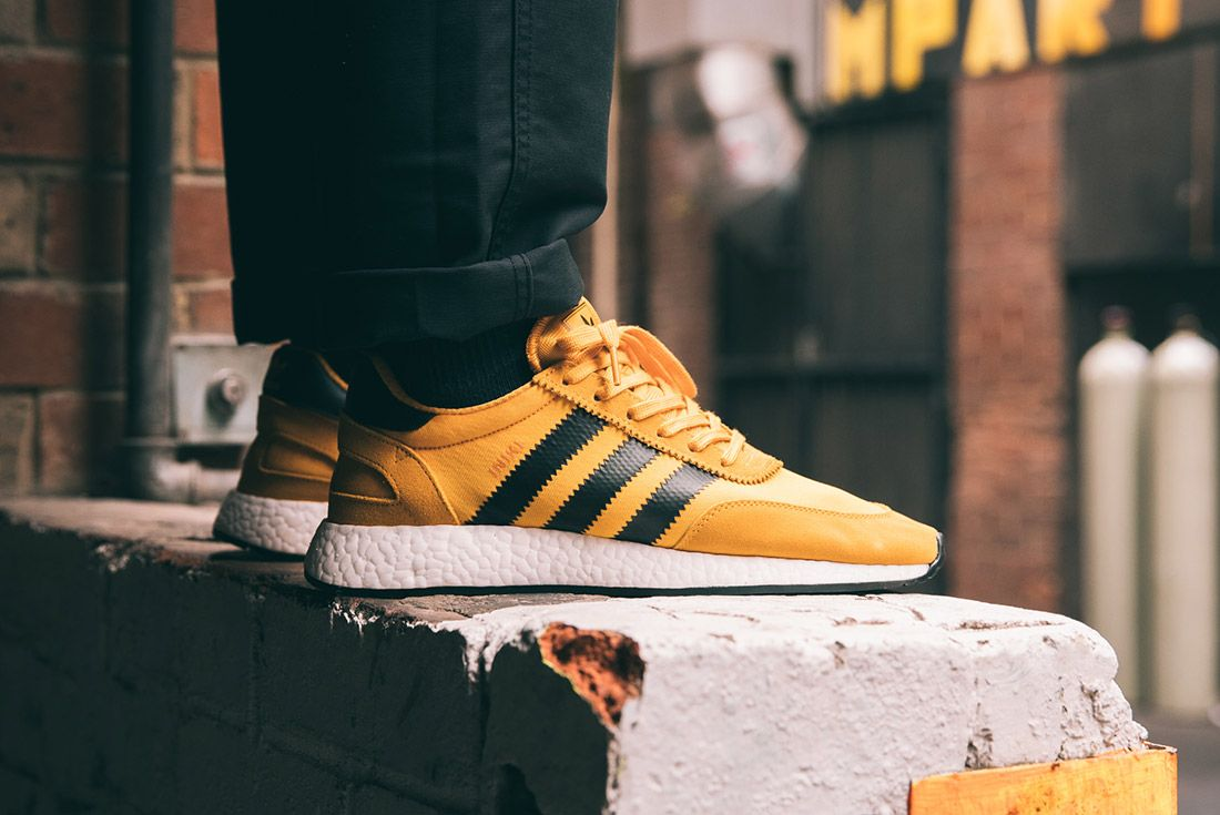 Adidas Iniki Runner Goldenrod Yellow 6