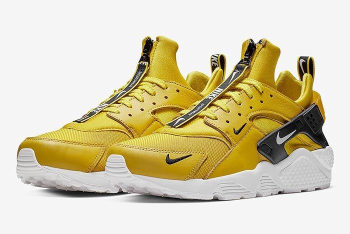 Nike Air Huarache Zip Yellow 1