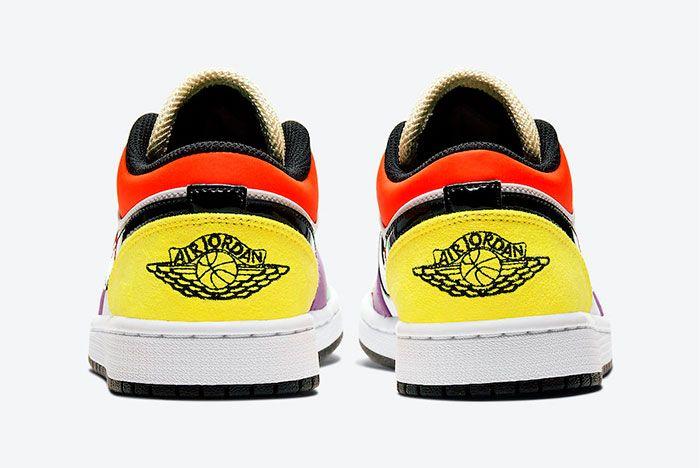 Air Jordan 1 Low Multicolour Heel