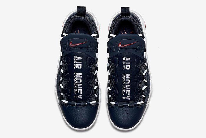 Nike Air More Money Blue 4
