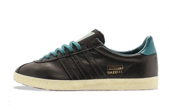 Adidas Gazelle Og Soft Gold Teal 2