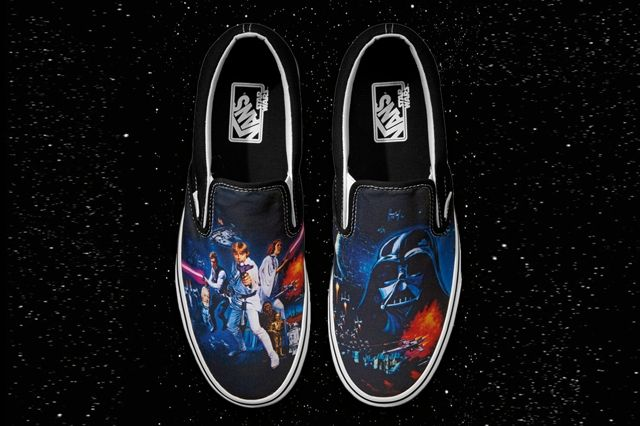 Vans Classic Slip On Star Wars A New Hope