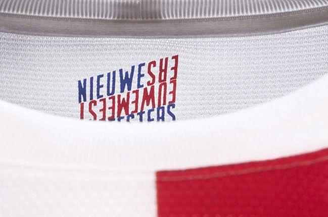 Nike Football Holland Away Jersey Back Of Shirt 1