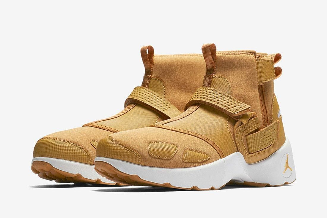 Air Jordan Trunner Lx High Golden Harvest Wheat Brown 6