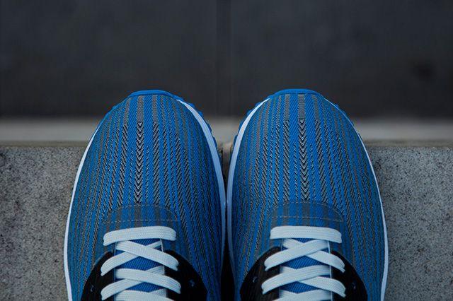 Nike Air Max Lunar 90 Jacquard Grey Blue 3