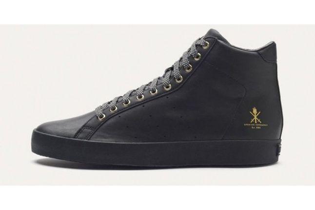 Adidas Og Vintage Rod Laver Hi Black Profile 1