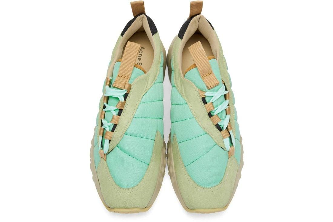Acne Sofiane Mint Green 3