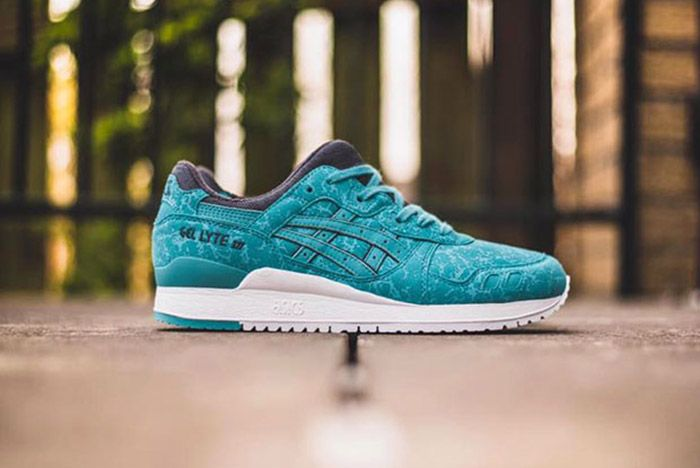 Asics Gel Lyte Iii Marble Kingfisher Blue 3