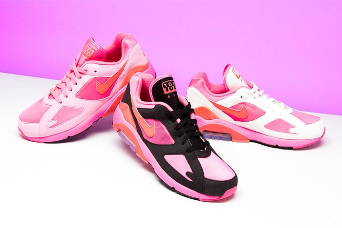 Comme Des Garcons Nike Air 180 Pink 11