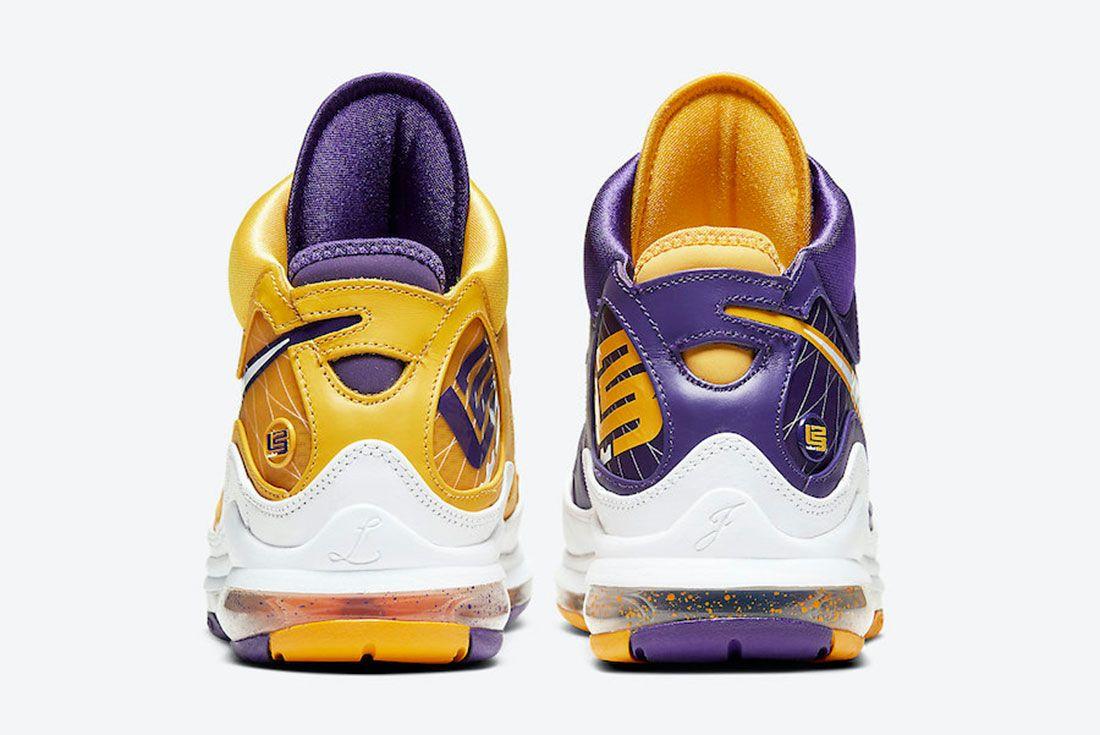 Nike LeBron 7 Lakers Heel