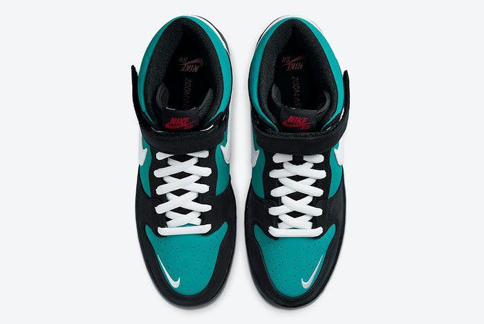 Nike Sb Dunk Mid Griffey Cv5474 001 Top
