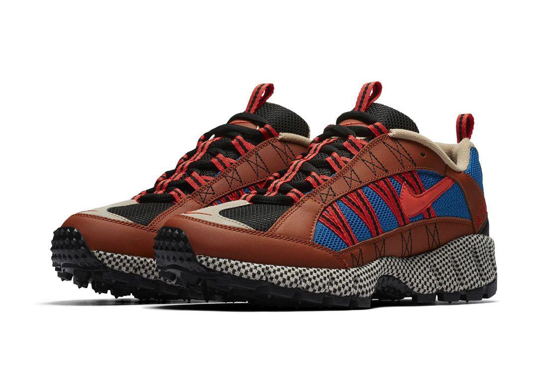 Nike Air Humara Red Blue Brown 12