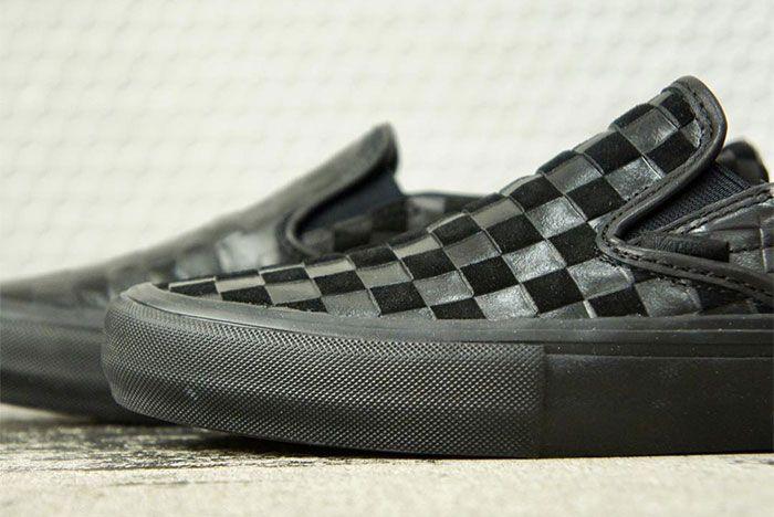 Engineered Garments Vans Vault Slip On Black 1