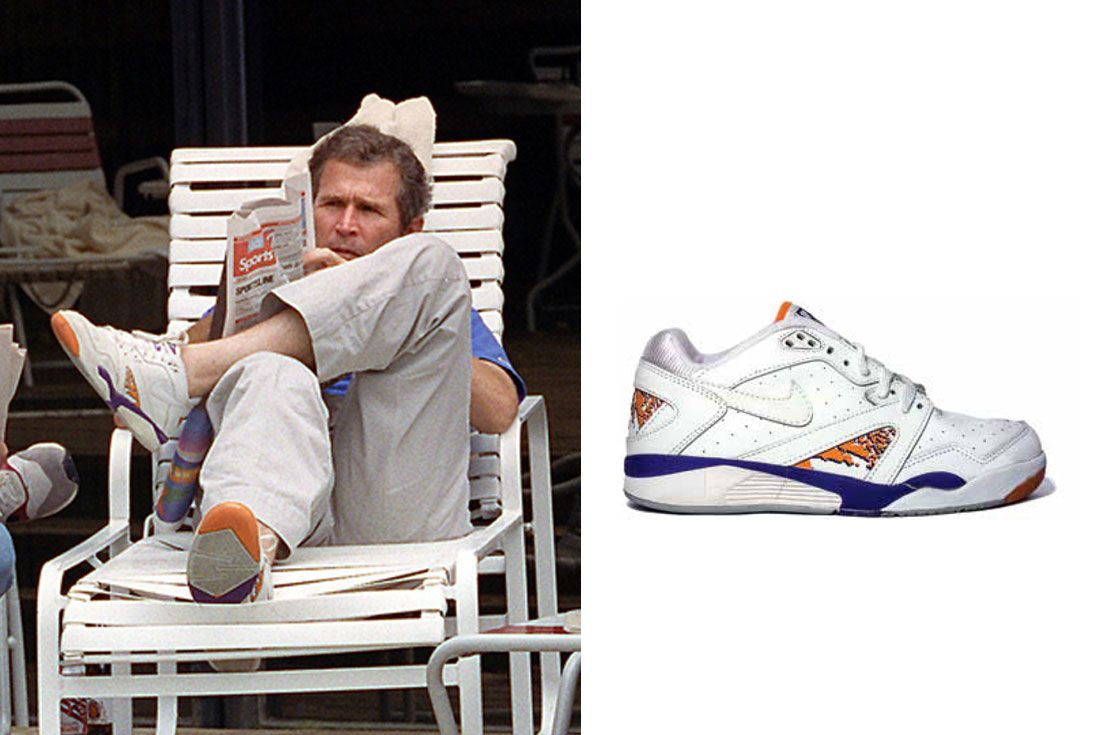Running For President George W Bush Nike Air Challenge Pro Low