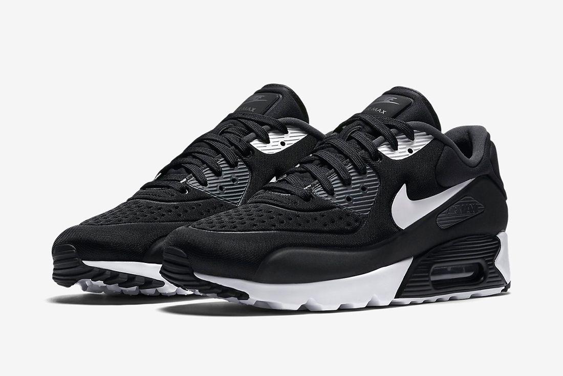 Nike Air Max 90 Ultra Se Black White4