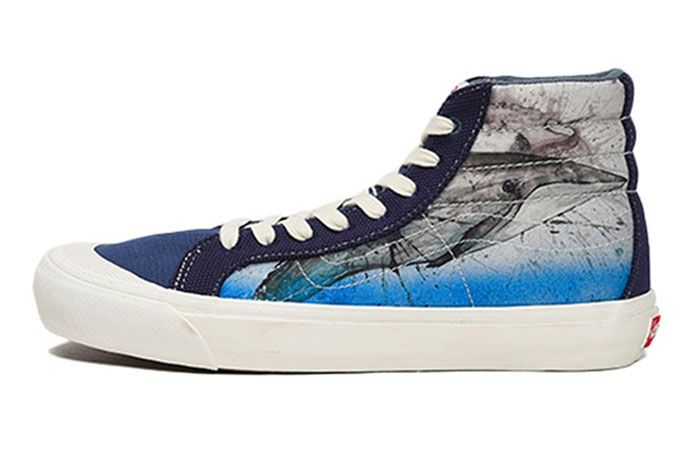 Vans Sk8 Hi Ralph Steadman Right