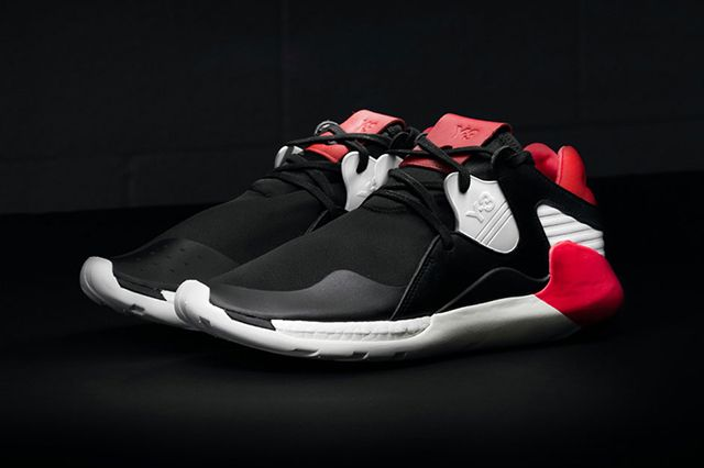 Adidas Y 3 Qr Boost Blackred