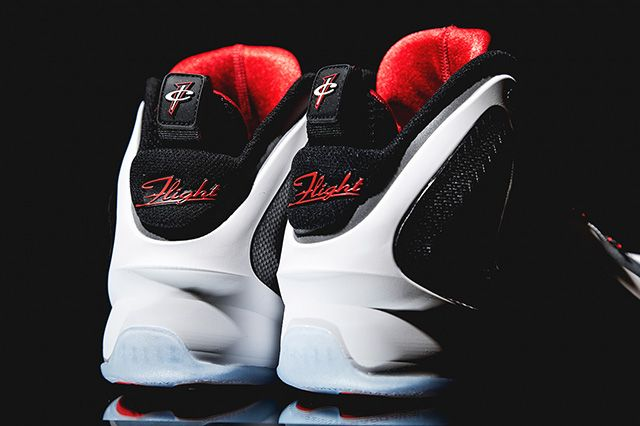 Nike Lil Penny Posite Reflective Silver Red 3