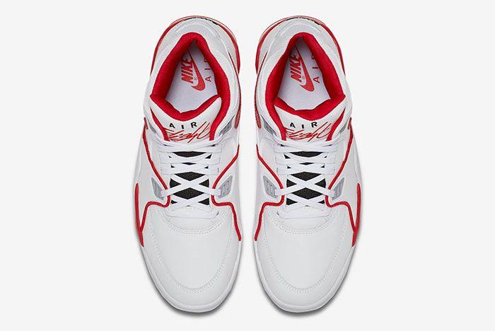 Nike Air Flight 89 White University Red 819665 100 Top