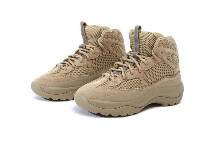 Yeezy Season 6 Desert Rat Boot Taupe Graphite Suede 01
