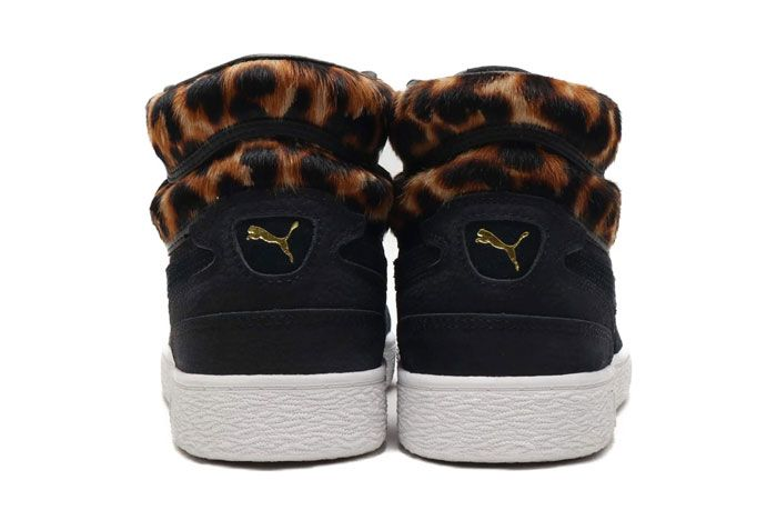 Puma Ralph Sampson Wild Pack Black Heel