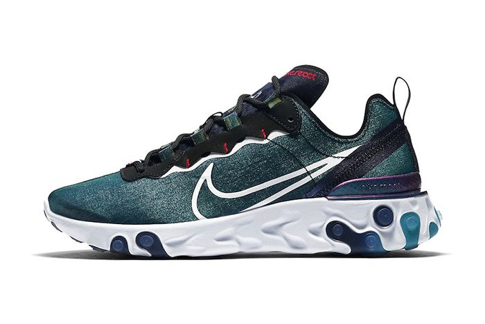 Nike React Element 55 Magpie Cn5797 011 Release Date Lateral