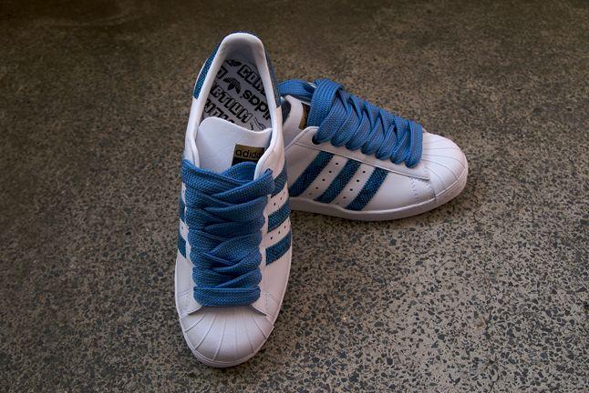 Adidas Superstar Consortium White Blue 1