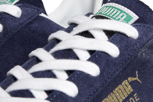 Puma Suede Insignia Blue Made In Japan Lace Detail 1