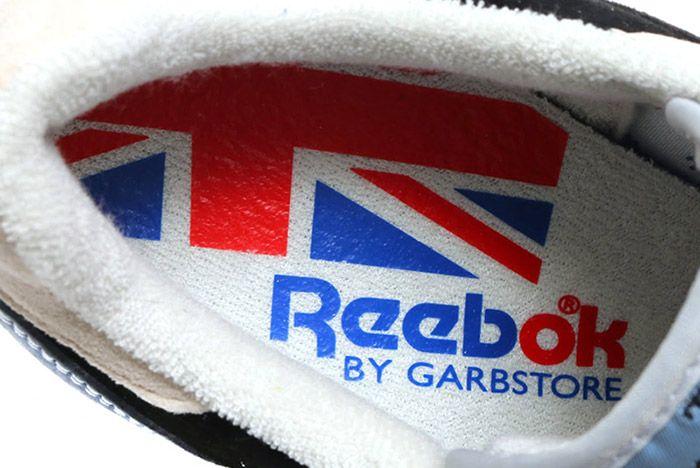 Garbstore Reebok Classic Leather Beige Tan Dust Black 3