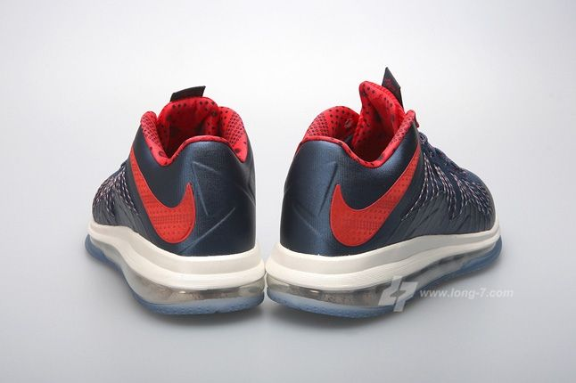 Nike Lebron X Low Usa Heel Profile 1