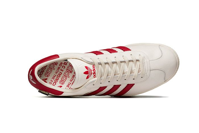 Adidas Gazzelle Gtx City Pack White Red Moskva 2