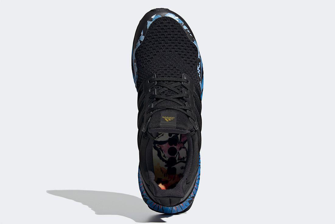 Adidas Ultraboost Cny Black Blue Top