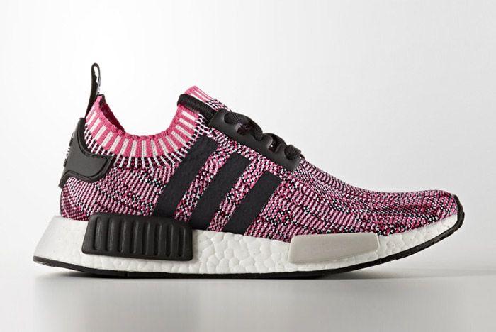 Adidas Nmd Ra Primeknit Pink Rose Black White 7