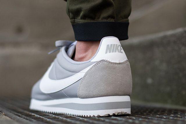 Nike Cortez Nylon (Wolf Grey) - Sneaker