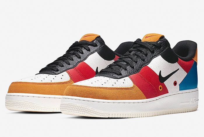 Nike Air Force 1 Low Prm Ci0065 101 Front Angle