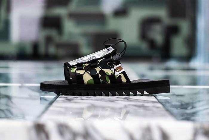 Bape Suicoke Model Dao Side Shot 2