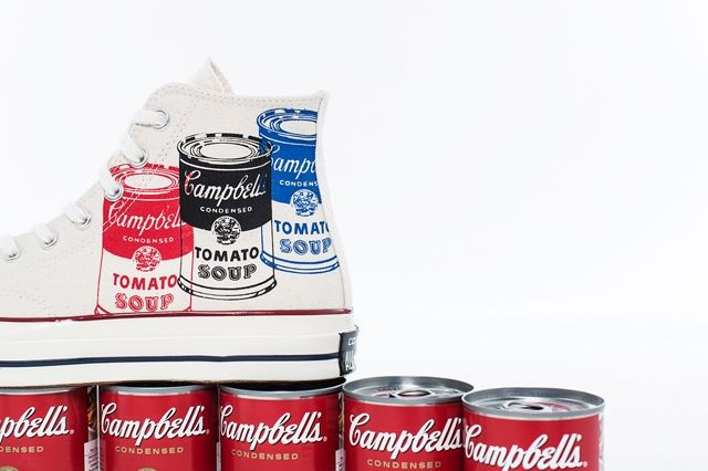 Andy Warhol Converse Collection Bump 3