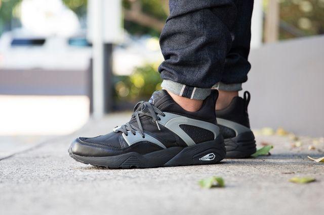 Puma Bog Black Grey 2