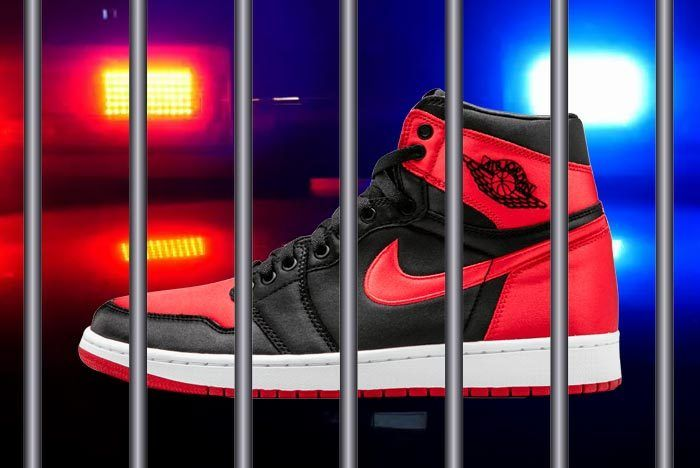 Air Jordan 1 Fake Smuggling Counterfeit