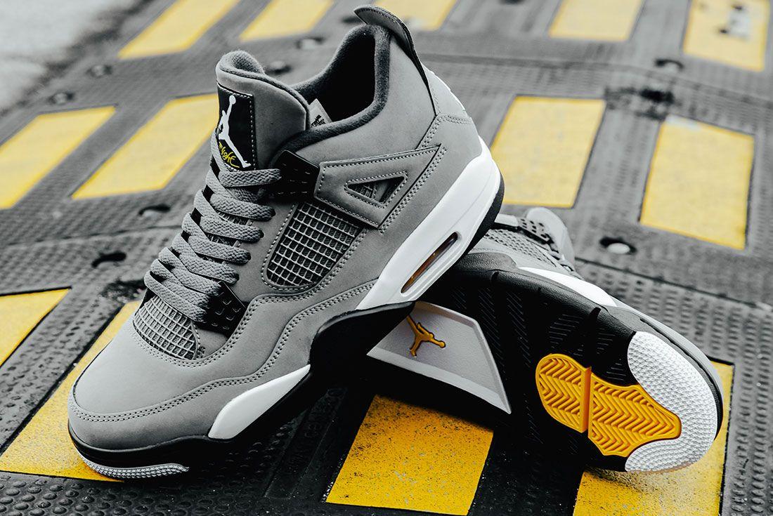Air Jordan 4 Cool Grey Pair3
