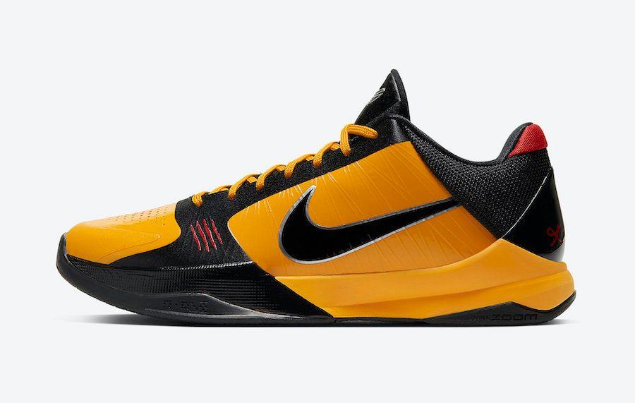 Nike Kobe 5 Bruce Lee Left
