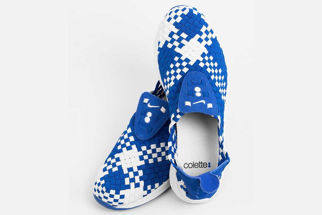 Colette Nike Air Woven The Beach White Blue 4
