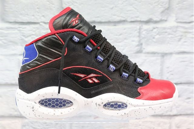 Reebok Question Red Royal Speckle 2